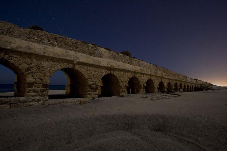 Photo: Caesarea Aqueduct